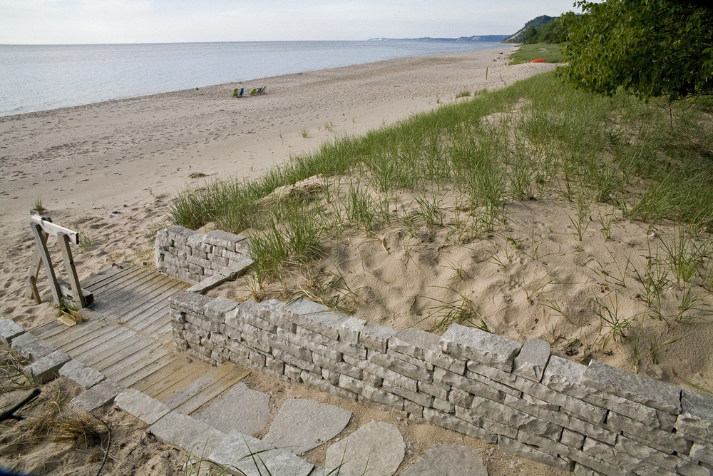 stone wall with dune:lake view.jpg
