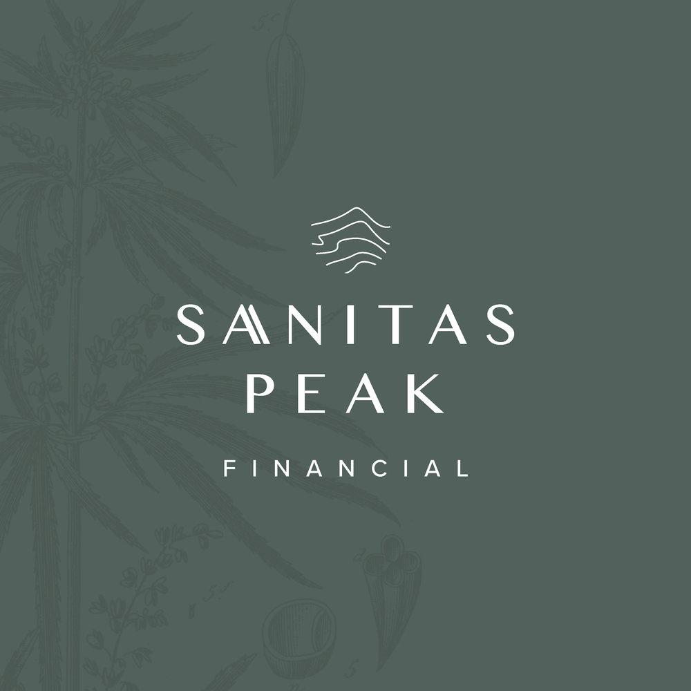 Sanitas Peak Financial -  branding and website design