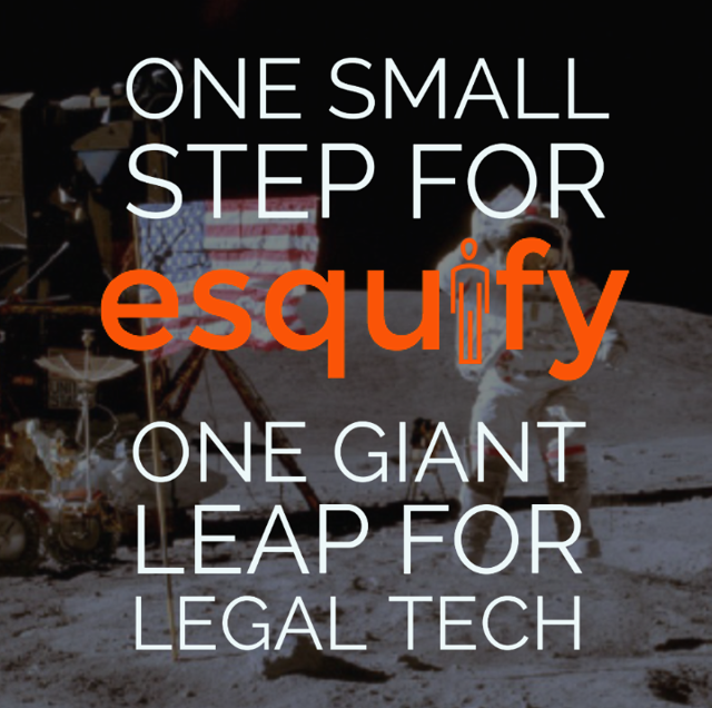 One small step for Esquify, one giant leap for the future of legal technology