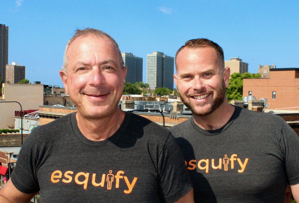 Esquify Founders and Co-CEOs, Scott Y. Stuart, Esq. & Drew Stern.