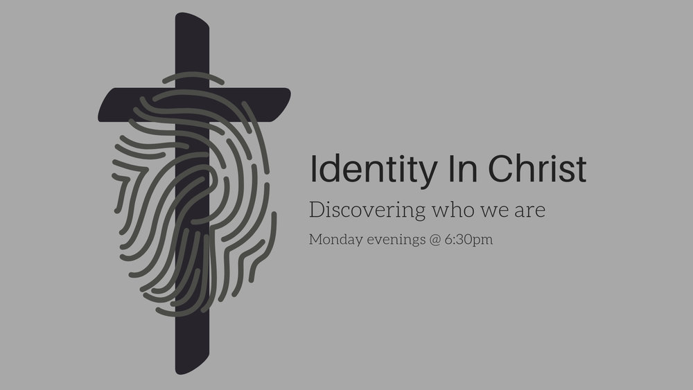 Dan and Deb Lindholm invite you to dig deeper into who you are in Christ Jesus. Every Monday evening @ 6:30pm, we discover and celebrate our God given identity together.