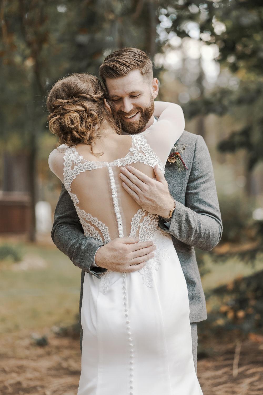 Spokane Wedding Lace Wedding Dress