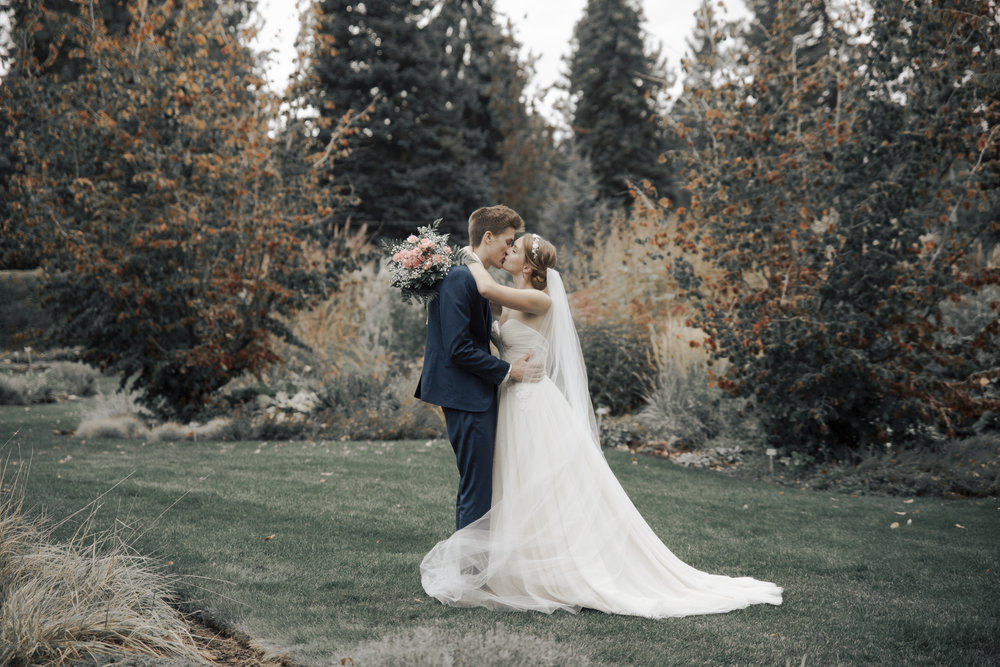 Spokane Wedding - Manito Park