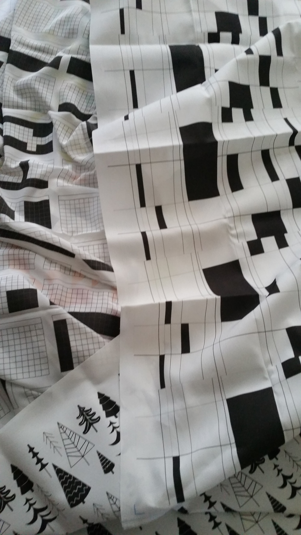 black and white new fabrics