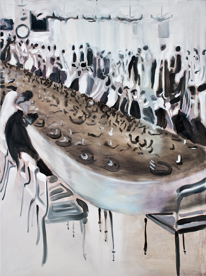 The Banquet | 60 x 48 in. Oill on linen