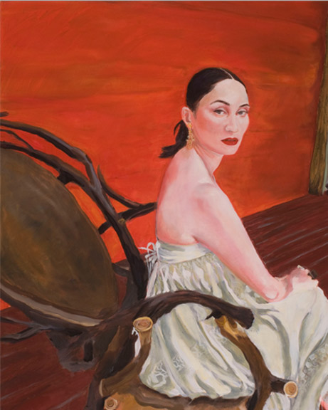 Rose Apodaca | 2010, 30 in x 24 in Oil on Linen