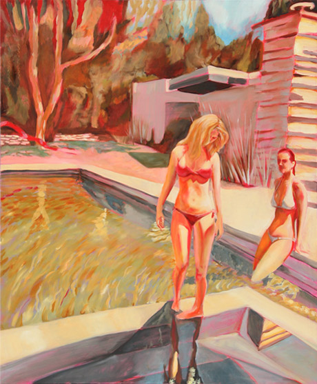 Technicolor Summer | 2008, 36in x 44in Oil on Linen