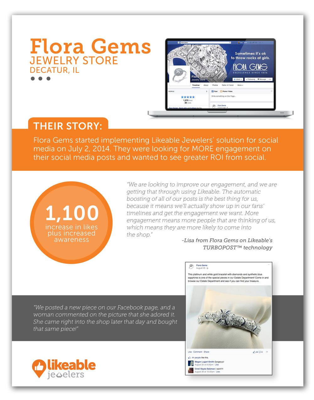 Case Study Flora Gems