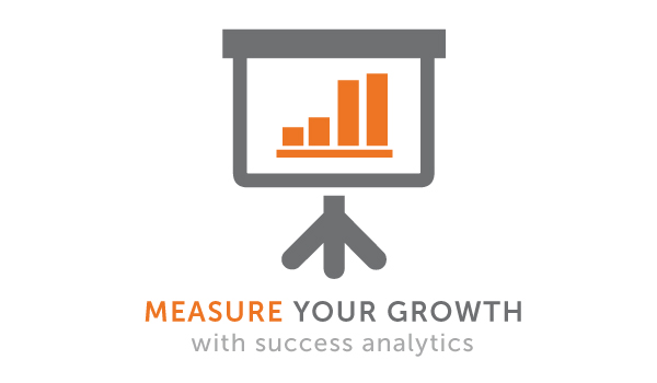 Watch your online presence grow with analytics dashboards and weekly success reports sent right to your inbox.