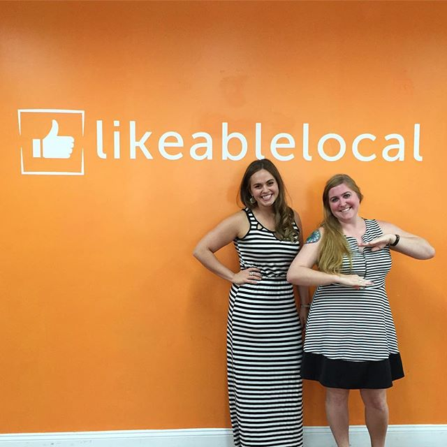 On Wednesday, we wear stripes ! #likeablelocal