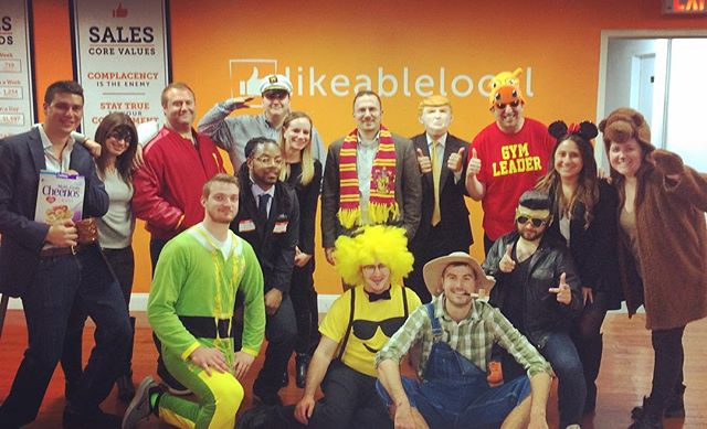 Happy Halloween from the Likeable Local Crew!! 👻👍🏻🎃