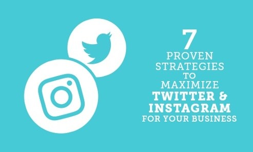 Maximize business on Twitter and Instagram