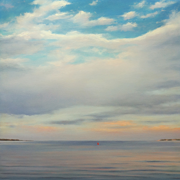 FLANDERS BAY, EVENING #2, 2012