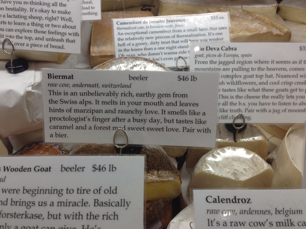 From the comedians…er, cheesemakers at Bedford Cheese