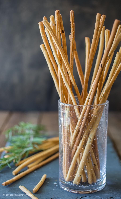 how to make grissini breadsticks