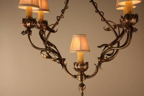 French 19th century bronze art nouveau chandelier lu91363543162 french 19th century bronze art nouveau chandelier lu91363543162 aloadofball Image collections