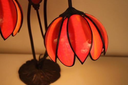 Art Nouveau Double Tulip Desk Lamp by Handel LU91364179663 – Tulip Desk Lamp
