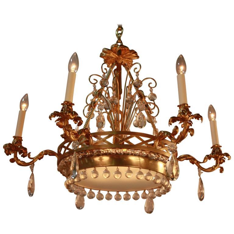 CHANDELIERS ARTISAN LAMP – Antique Bronze Crystal Chandelier