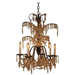 Chandeliers artisan lamp french palm tree design crystal chandelier lu91367192333 aloadofball Choice Image