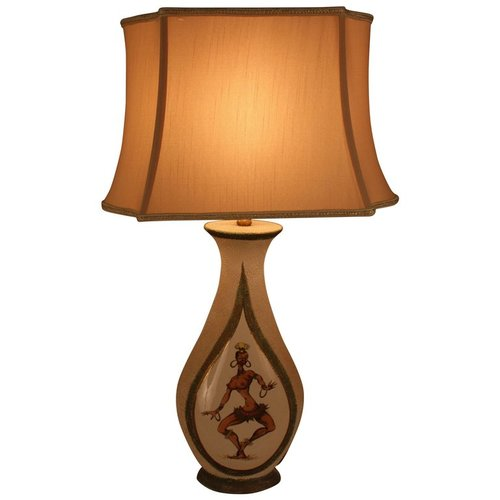 1930s pottery table lamp with caricature picture of josephine baker 1930s pottery table lamp with caricature picture of josephine baker lu91369400943 mozeypictures Choice Image