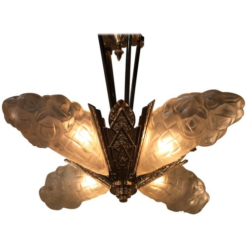 French art deco chandelier by degu lu91369964923 artisan lamp french art deco chandelier by degu lu91369964923 aloadofball