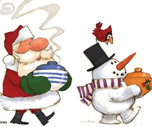 Christmas Potluck.Hals Annual Christmas Potluck Hinton Employment And