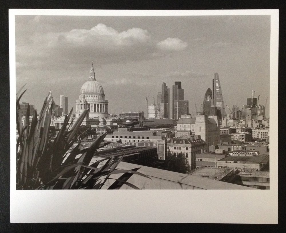 London Skyline - copyright Sandra Fontano