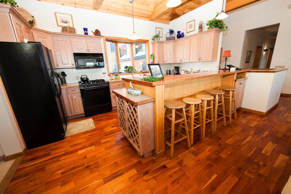 Shared Guest Kitchen
