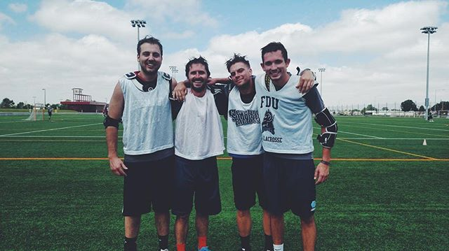 Pretty awesome that a team full of hooligans made it to the lacrosse championship this summer.  #PipeKings