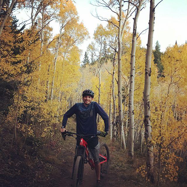 Full send into Autumn yesterday on Aspen Alley in Breckenridge, CO.