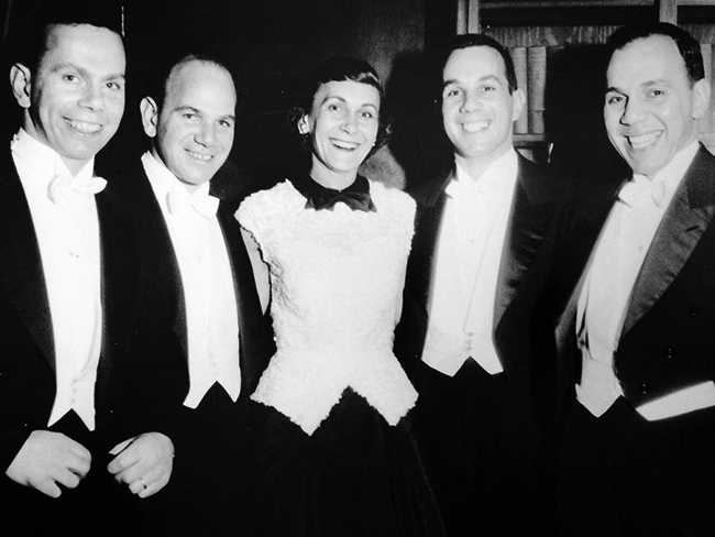 George, Stanley, Ethel, Donald and Leonard Berkowitz