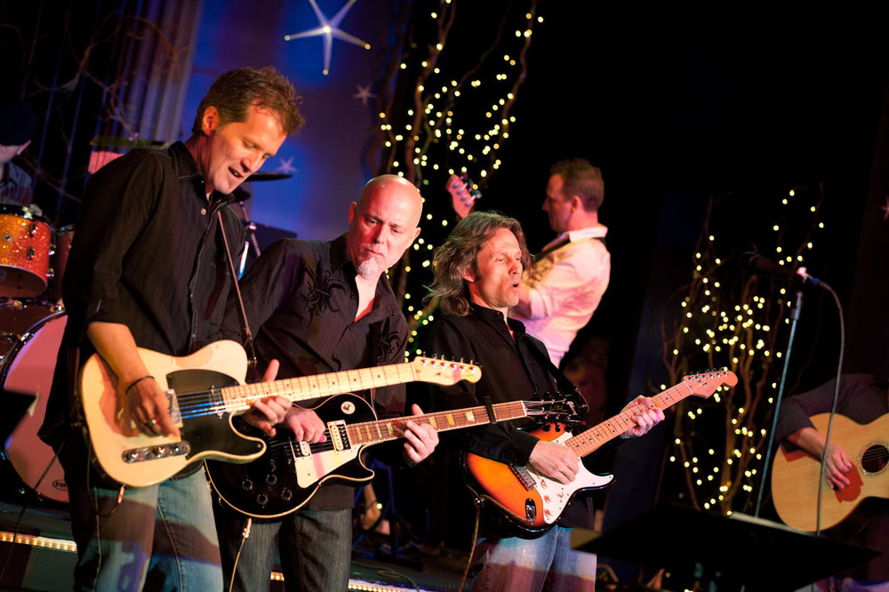 L-R - Luke Kramer, Jay Graf, Jeff Engholm, Al Bergstrom