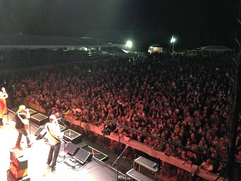 Main Stage at Moondance Jam 2014!