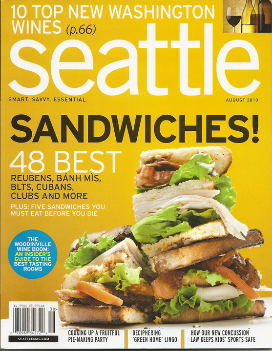 Seattle Magazine August 2010