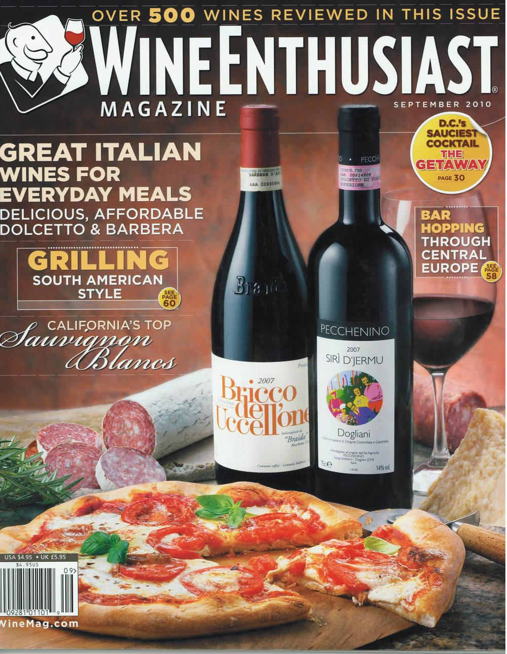 Wine Enthusiast September 2010