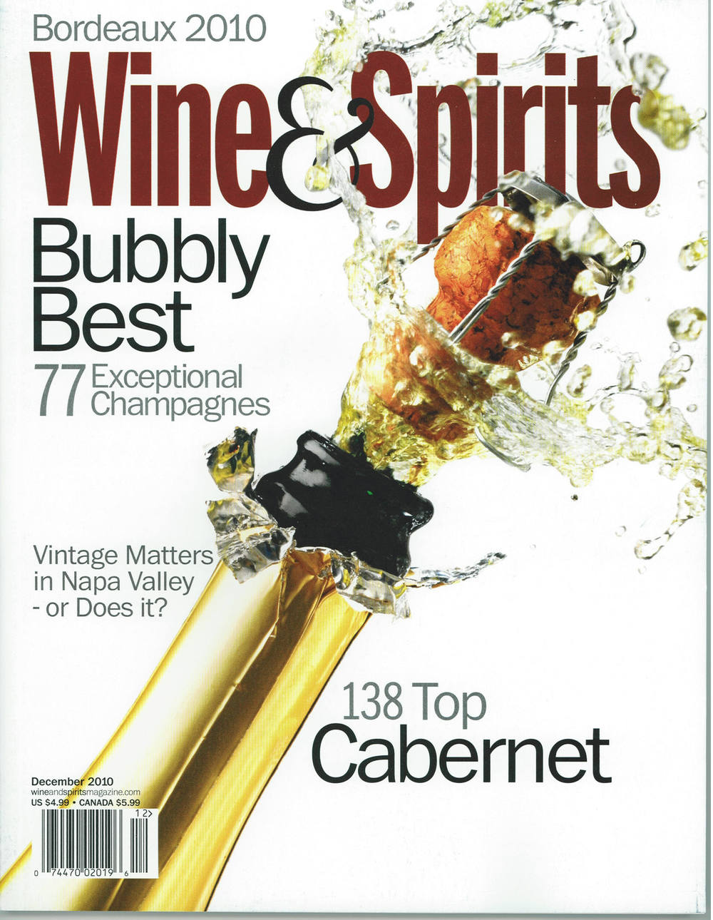 Wine and Spirits December 2010
