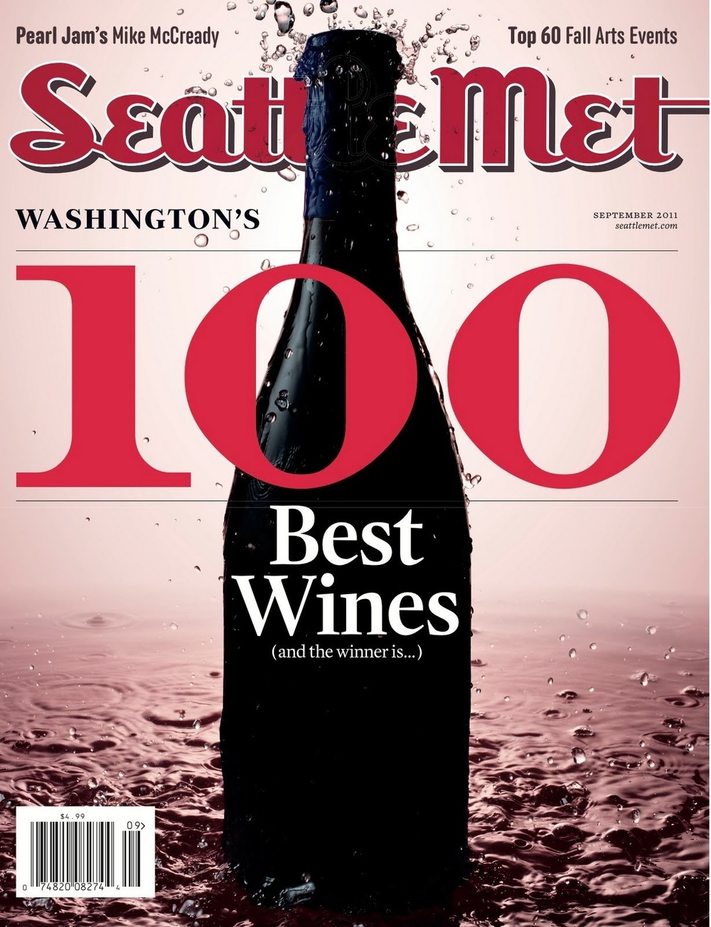 Seattle Met Magazine August 2011