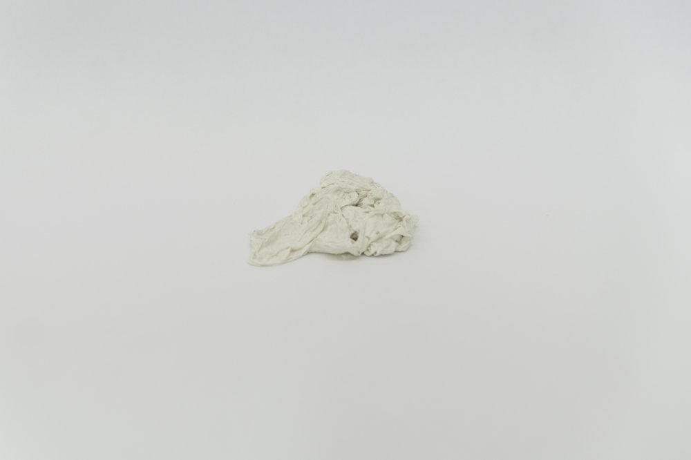 Untitled 4 (Porcelain Paper Towel)