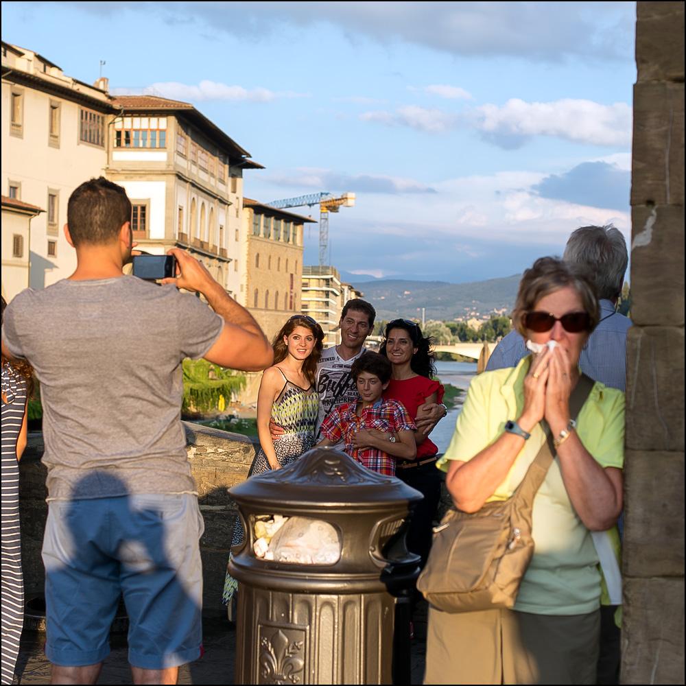 Selfie, Ponte Vecchio