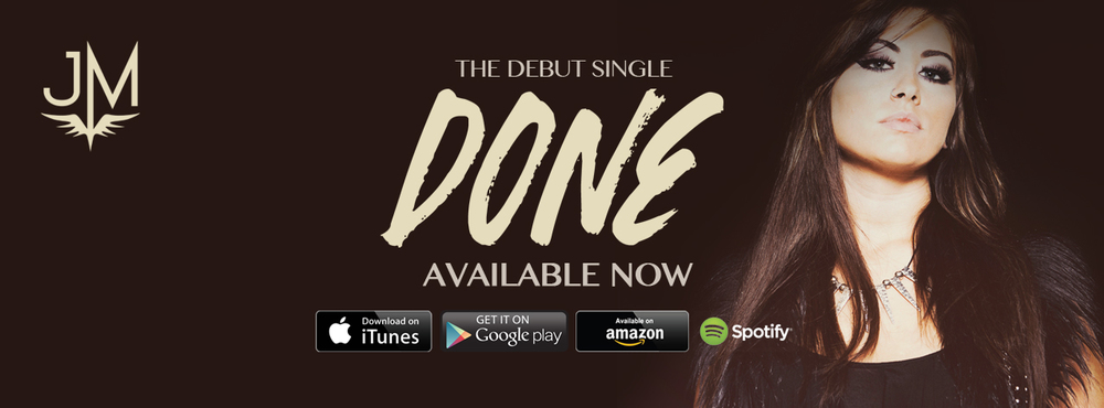 Jessica Meuse Done Single Facebook Banner