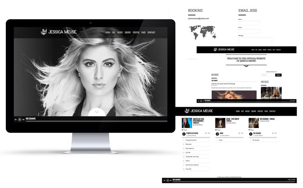 Jessica Meuse Official Website