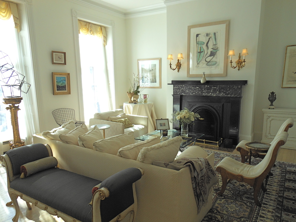 Living room, Beacon Hill residence
