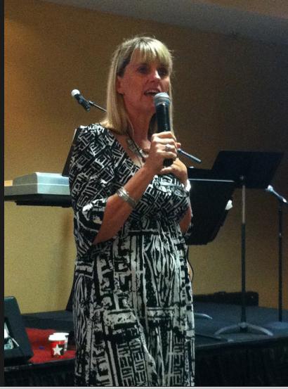 Carol preaching