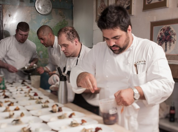 Del Campo at the James Beard House (Photo by James Beard House)