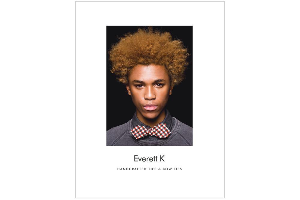 Everett K Handcrafted Ties & Bow Ties 2015 Lookbook Cover
