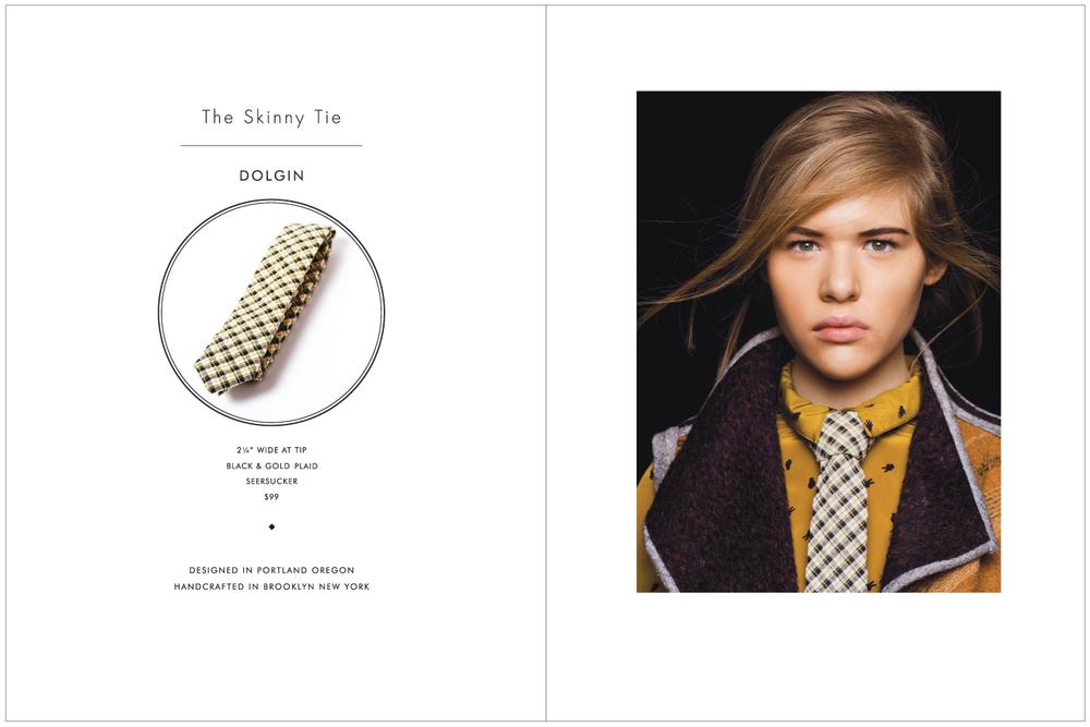 Everett K Handcrafted Ties & Bow Ties 2015 Lookbook Page 2