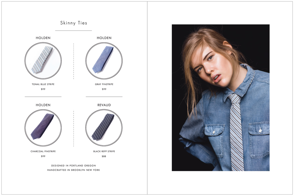 Everett K Handcrafted Ties & Bow Ties 2015 Lookbook Page 4