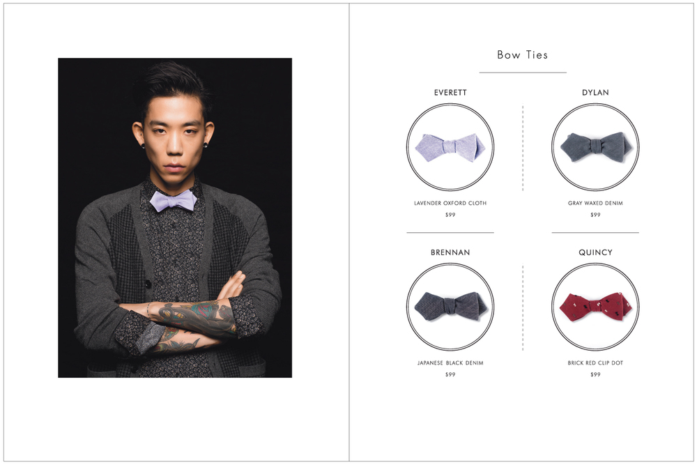 Everett K Handcrafted Ties & Bow Ties 2015 Lookbook Page 9