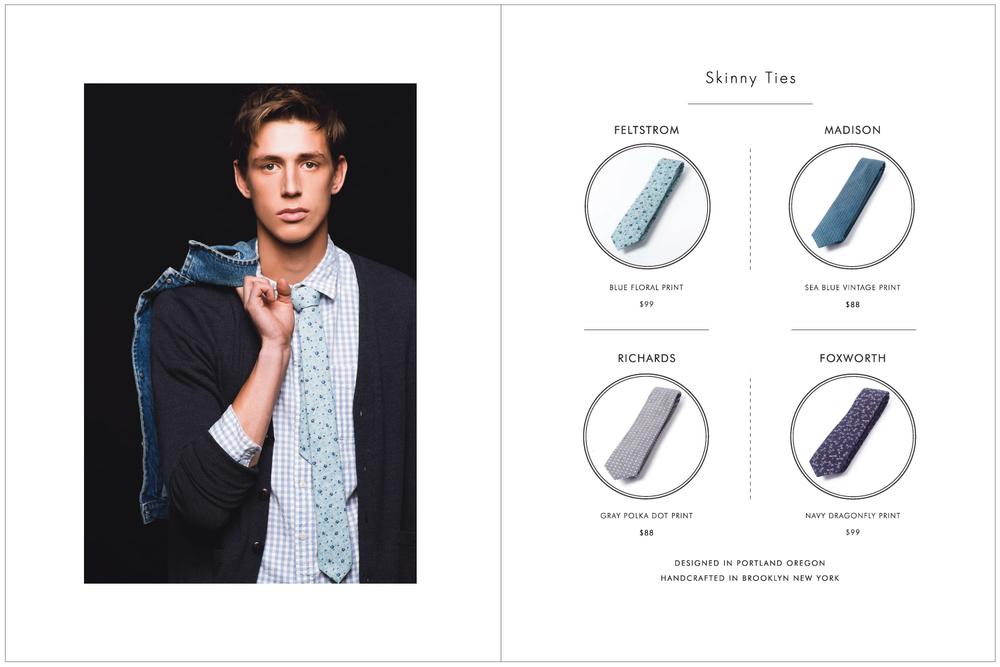 Everett K Handcrafted Ties & Bow Ties 2015 Lookbook Page 11