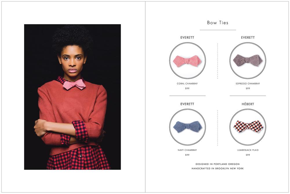 Everett K Handcrafted Ties & Bow Ties 2015 Lookbook Page 13